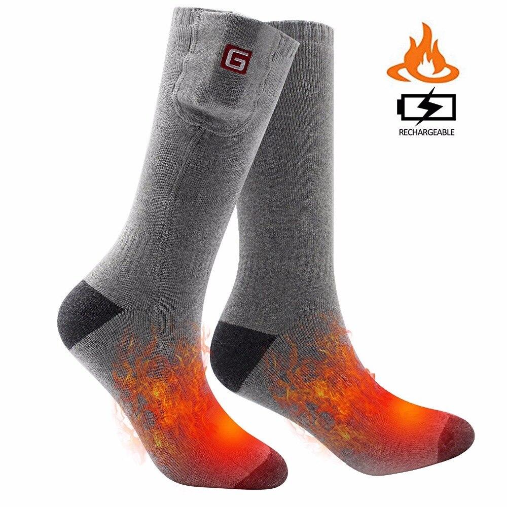 SVPRO Rechargeable Battery Heating Socks. 3.7V Winter Warm ...