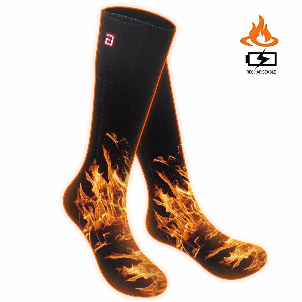SVPRO Smart Electric Heated Socks Men, 3.7V Cold Winter ...
