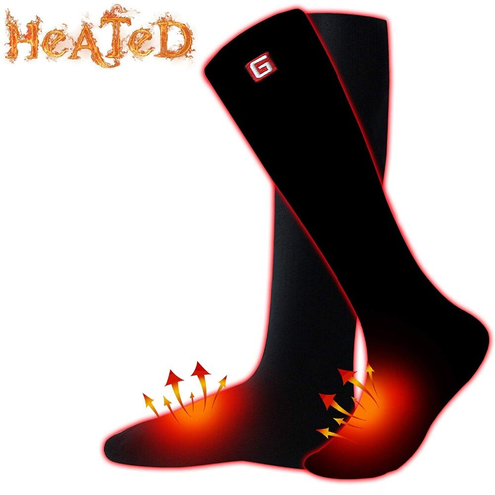SVPRO Smart Electric Heated Socks Men For Cold Winter Warm ...