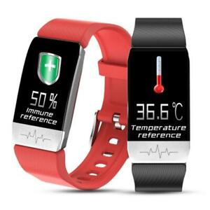T1 Smart Watch Band With Temperature Immune Measure ECG ...
