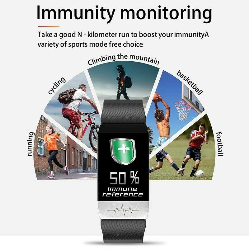 T1 temperature immunity measure ECG heart rate sleep ...