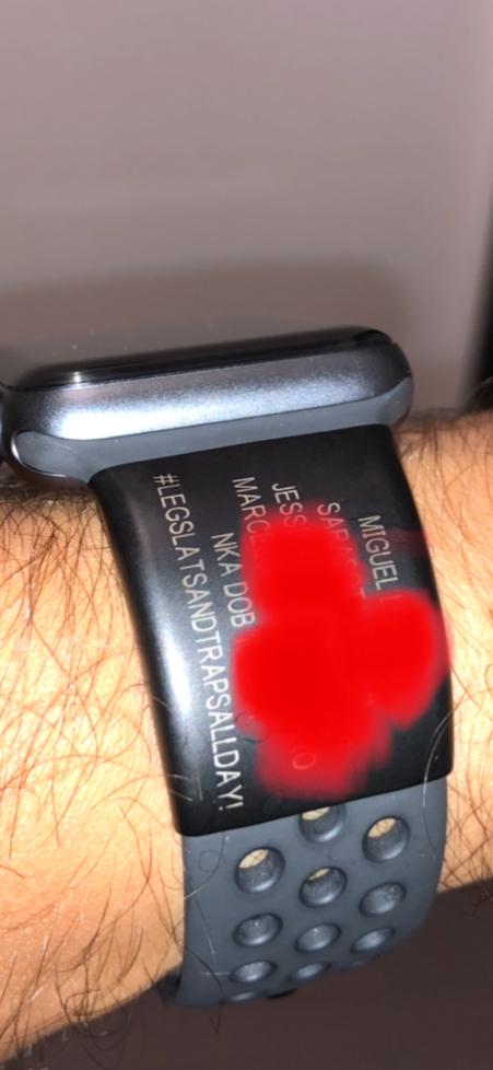 The Apple Watch ID Slate Sport   ROAD iD