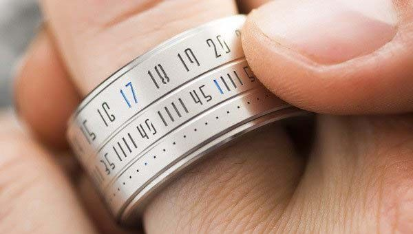 The Ring Clock Brings Time and Fashion on Your Finger ...