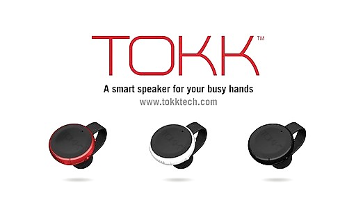 TOKK Wireless Smart Wearable SpeakerPhone - on eBags.com ...