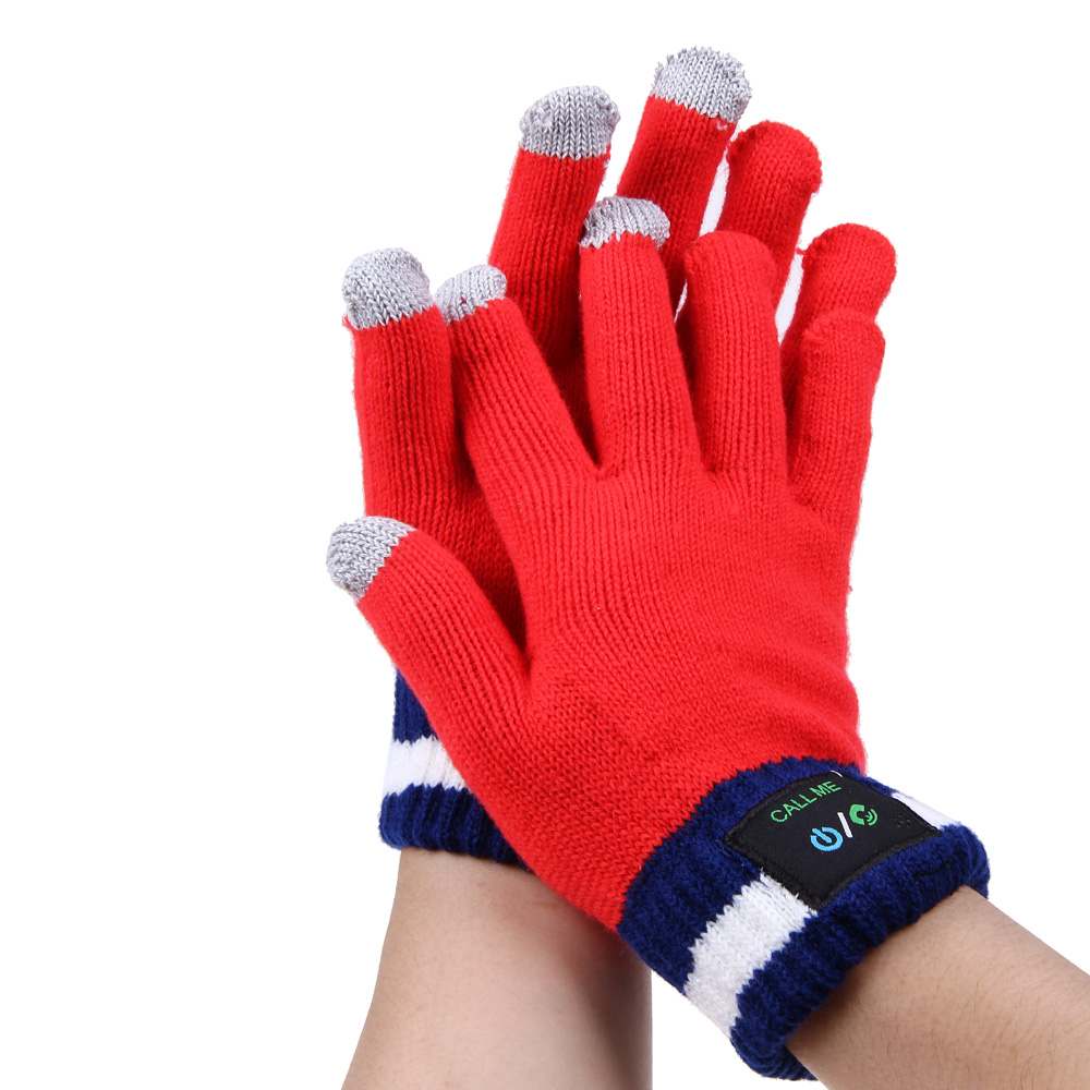 Touchscreen Gloves Hi Call Bluetooth Winter Glove for Phone
