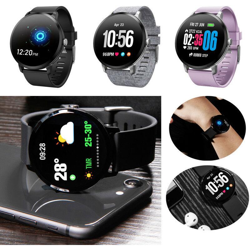 V11 SmartWatch Bracelet Fitness Tracker Heart Rate Blood ...