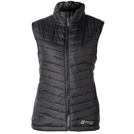 Venture Heat Women's Heated Puffer Vest with Power Bank ...