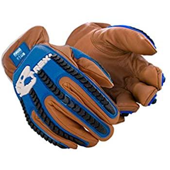 Volt Heated Work Gloves - Leather Work Gloves ...