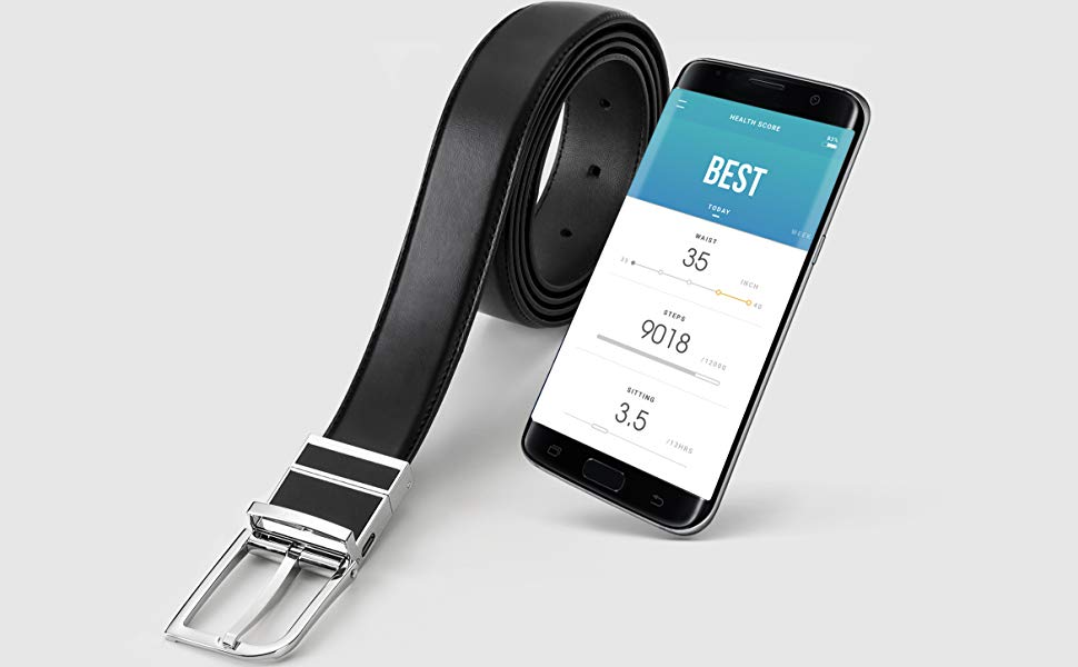 Welt: Smart Belt Compatible With iOS and Android | MyBooThang