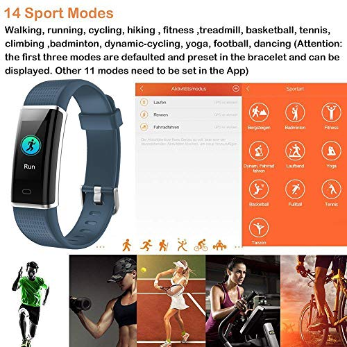 Willful Fitness Tracker,Colour Screen Smart Watches ...