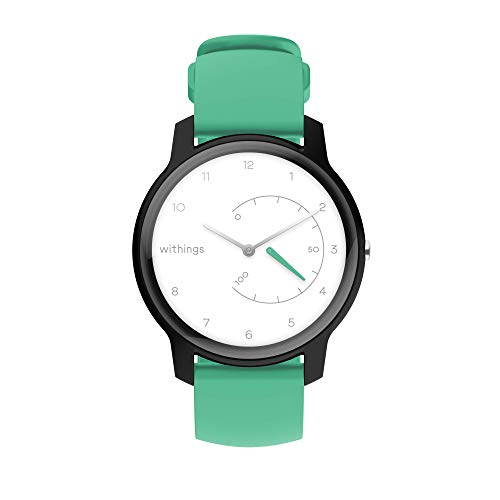 Withings Move - White, Black & Mint