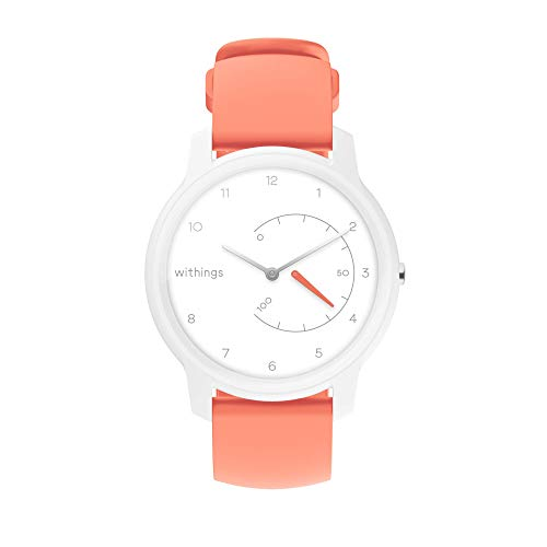 Withings Move - White & Coral