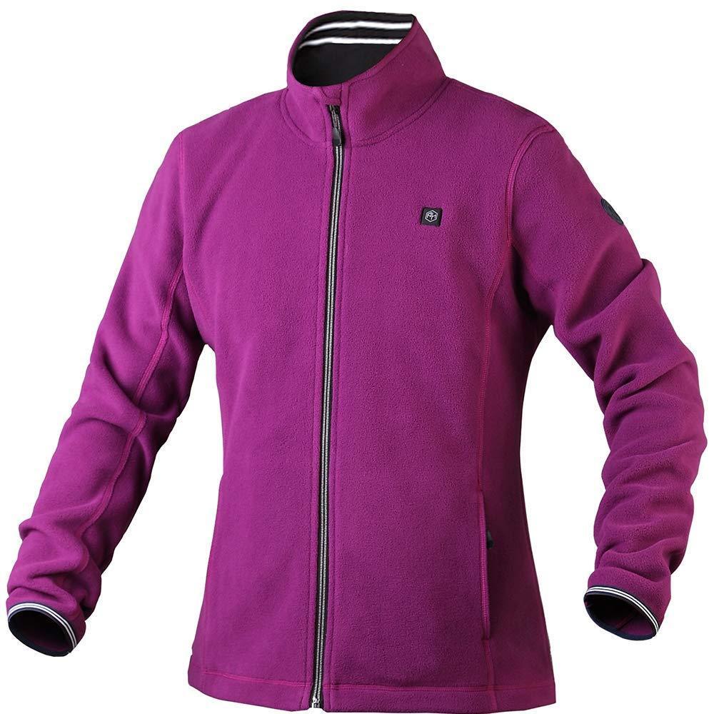 Women's Sherpa Fuzzy Fleece Heated Jacket