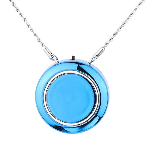 WOOLALA Personal Wearable Air Purifier Necklace - BLUE