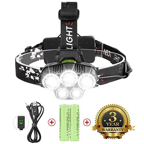 Xtreme Bright® Ultra Bright Zoomable LED Headlamp Torch ...
