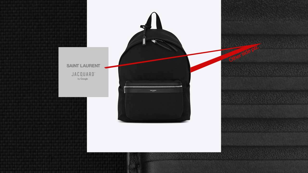 YSL CIT-E backpack is Google Jacquard's next piece of ...