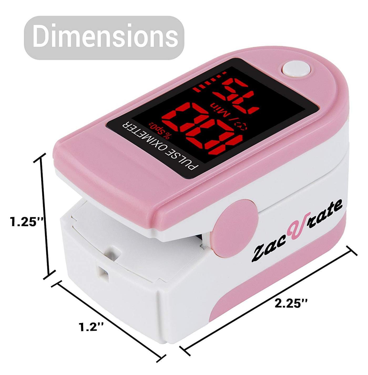 Zacurate Pink Series Fingertip Pulse Oximeter (Blood ...