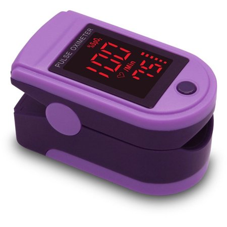 Zacurate Pro Series 500DL Fingertip Pulse Oximeter Blood ...