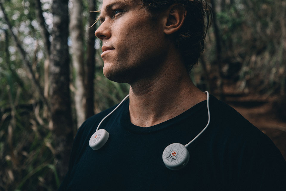 Zulu Audio Is A Bluetooth Speakers That You Wear Over Your ...