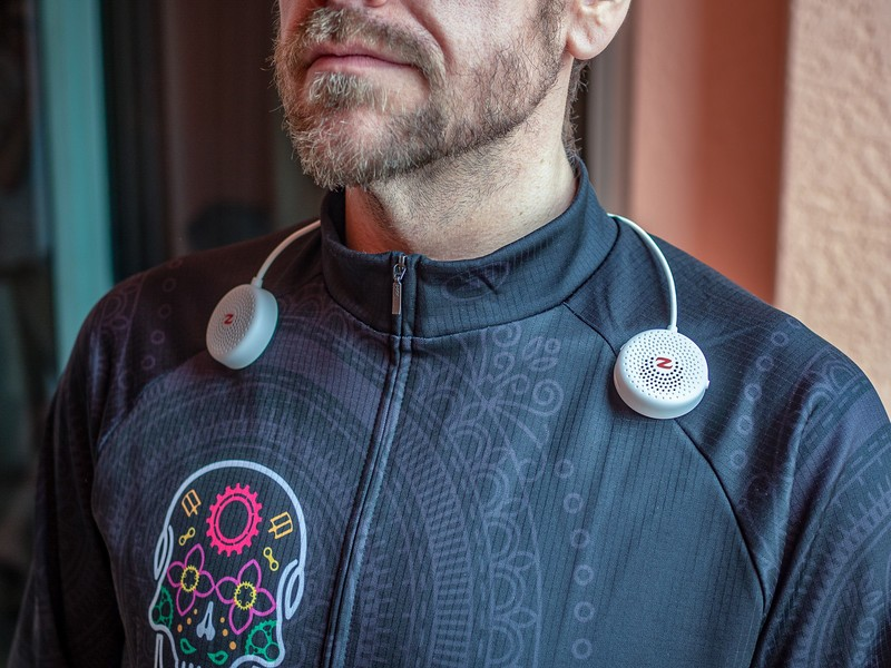 Zulu Audio Wearable Bluetooth Speakers Review: Audio that ...