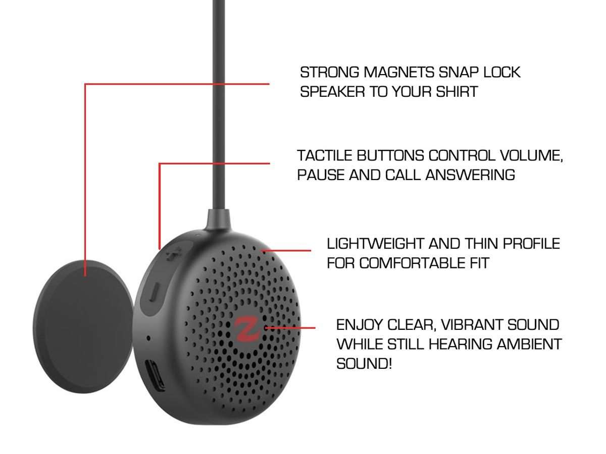 ZULU Audio Wearable BLUETOOTH® Speakers