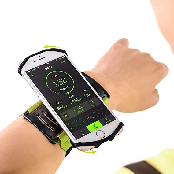 180° Rotatable Armband/Wristband Smartphone Holder – 5 ...