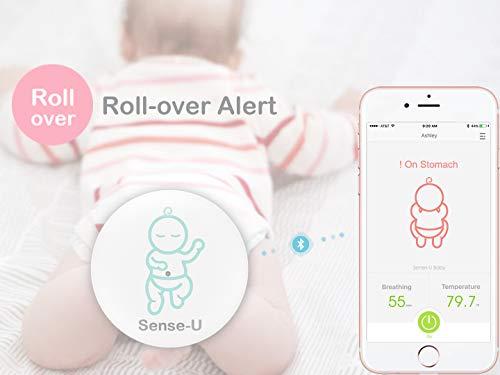 (2018 New Model) Sense-U Baby Breathing & Rollover ...