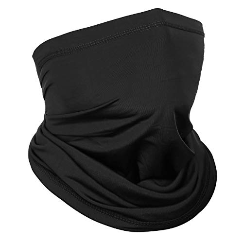 Achiou Neck Gaiter Face Scarf Mask-Dust, Sun Protection Cool Lightweight Windproof, Breathable Fishing Hiking Running Cycling