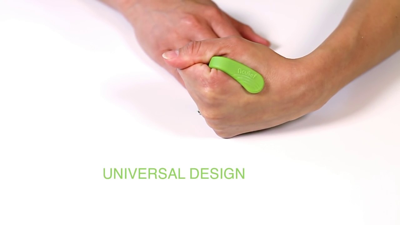 Aculief // Wearable Acupressure (Green) - Aculief - Touch ...