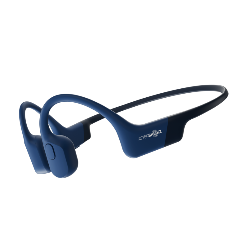 Aftershokz AEROPEX Wireless Bluetooth Headphones -Blue ...