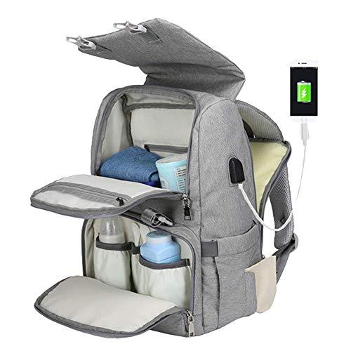 Alternative Simple Werx Diaper Bag with Speakers - Grey