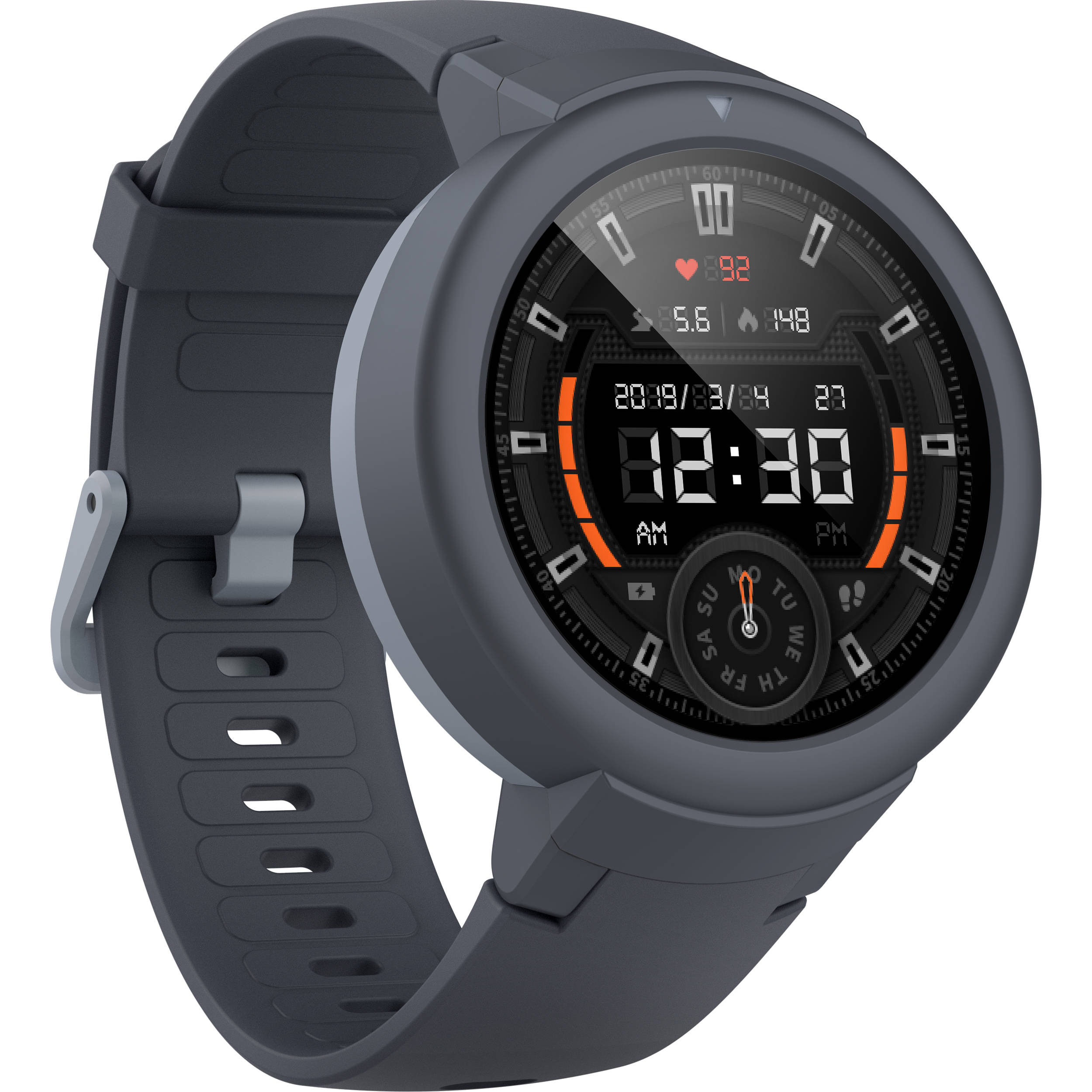 Amazfit Verge Lite GPS Smartwatch (Gray) W1818US1N B&H Photo