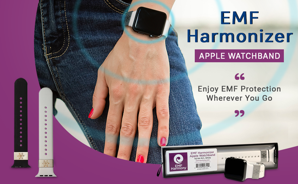 EMF Harmonizer Apple Watch Band