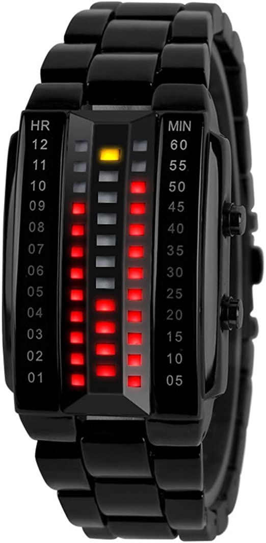 Binary Matrix LED Watch