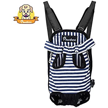 Amazon.com : PAWABOO Pet Carrier Backpack, Adjustable Pet ...