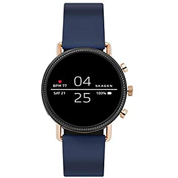 Amazon.com: Skagen Connected Falster 2 Stainless Steel and ...