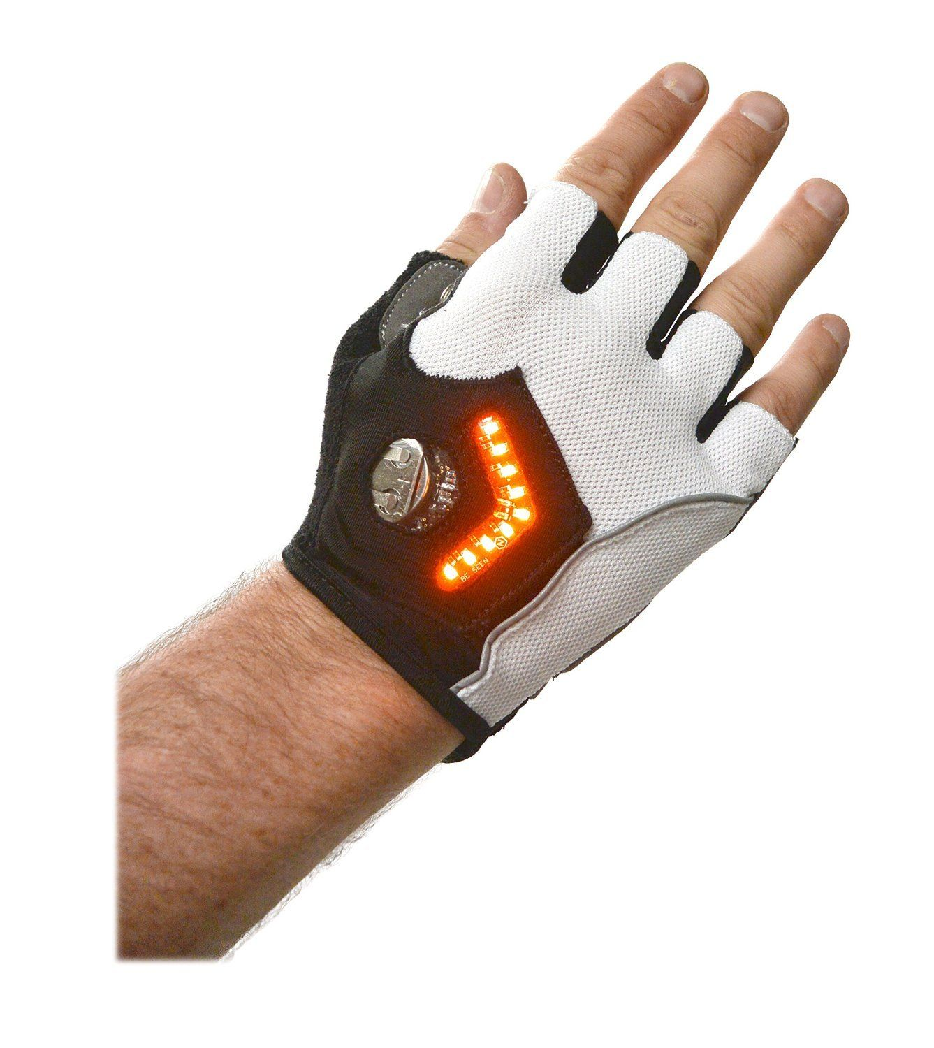 Amazon.com : Zackees LED Turn Signal Gloves for Cycling ...