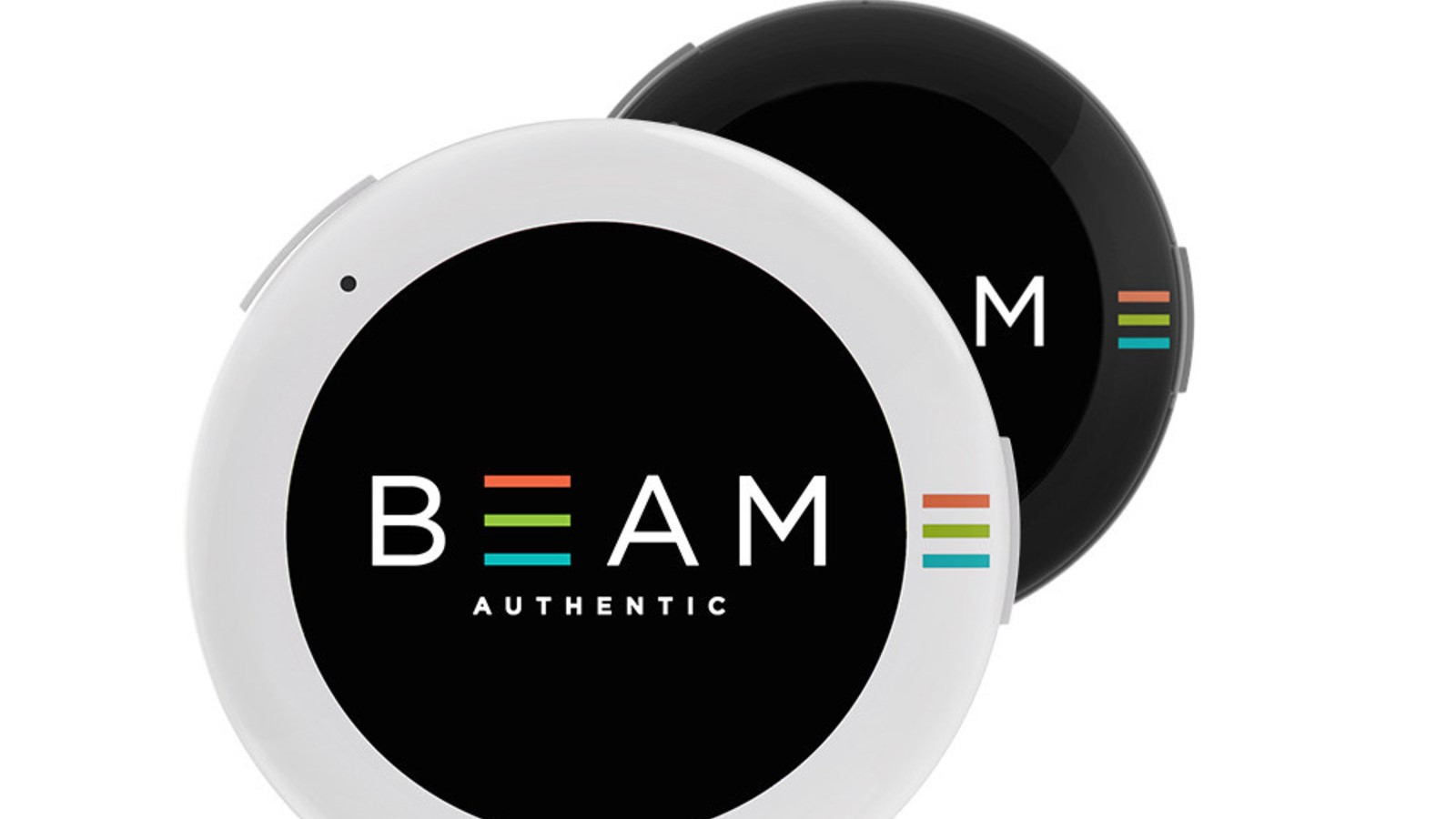BEAM is a $99 smart wearable button with an AMOLED screen