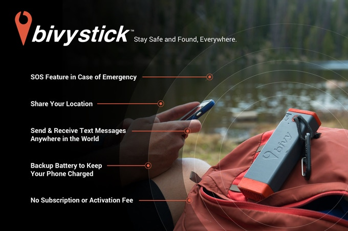 Bivystick - Simple, Affordable Satellite Communication by ...