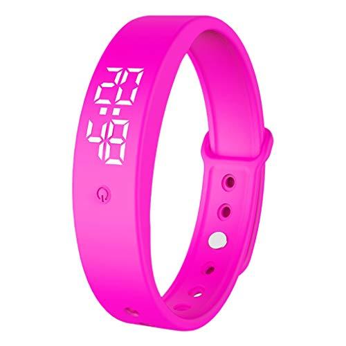Body Thermometer Bracelet (Pink)