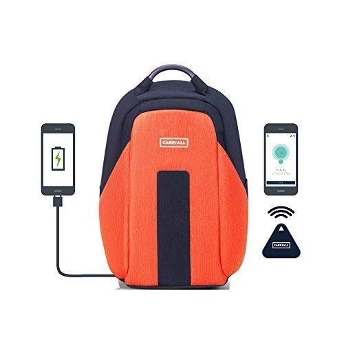 Carriall VASCO Orange Smart Laptop Backpack
