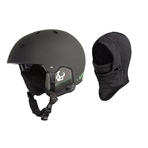 DEMON UNITED Phantom Helmet w/ Audio + Balaclava - BLACK