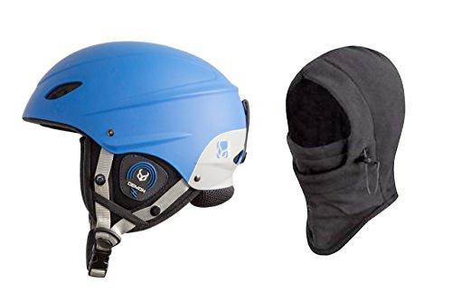 DEMON UNITED Phantom Helmet w/ Audio + Balaclava - BLUE