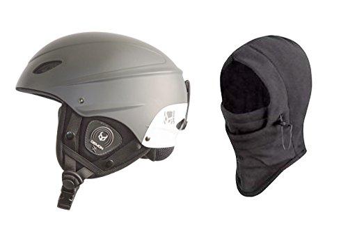 DEMON UNITED Phantom Helmet w/ Audio + Balaclava - GRAY