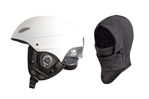 DEMON UNITED Phantom Helmet w/ Audio + Balaclava - WHITE