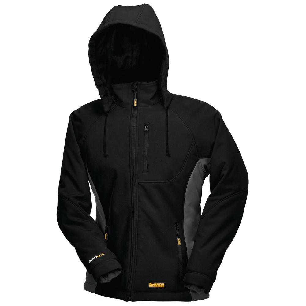 DEWALT 12V/20V MAX Women's Black Heated Jacket Kit - XL ...