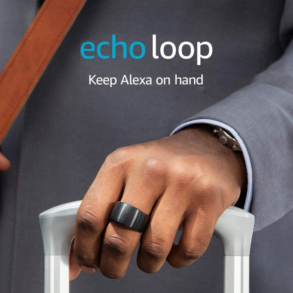 Echo Loop - Smart ring with Alexa - Extra Large