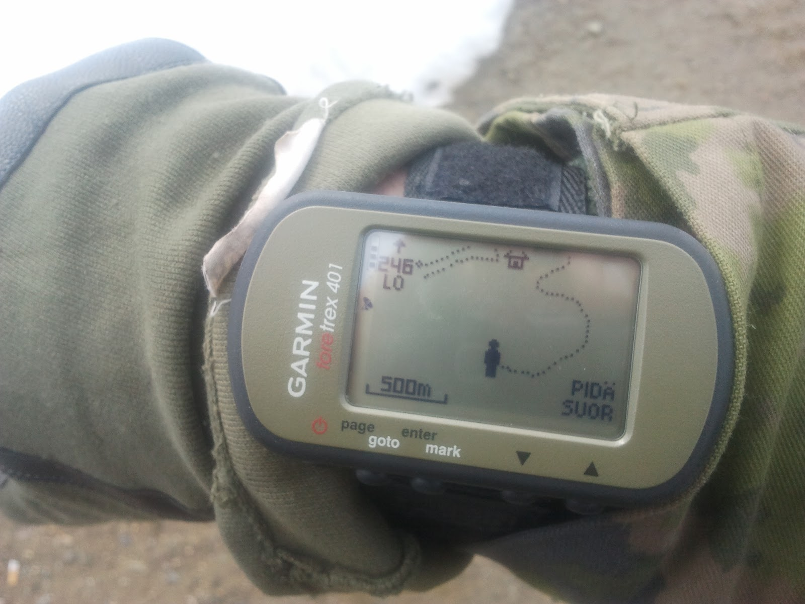 Finnish soldier's off-the-shelf reviews and points: Garmin ...