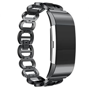 Premium Metal Band for Fitbit Charge 2 8
