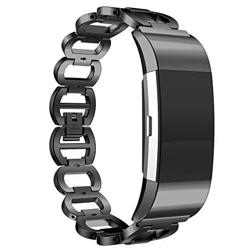 Premium Metal Band for Fitbit Charge 2 2